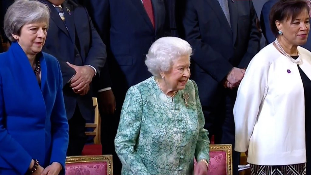 Queen Formally Opens CHOGM