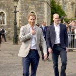 Royal Brothers Meet Windsor Crowd