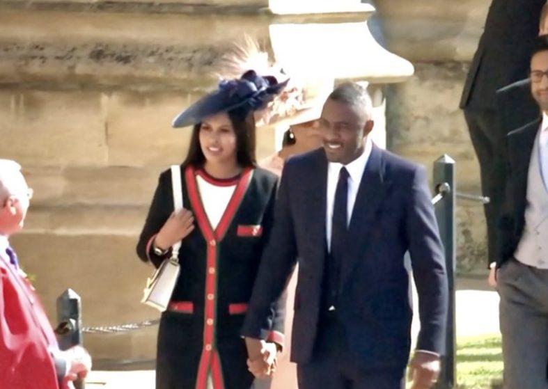 Idris Elba and partner
