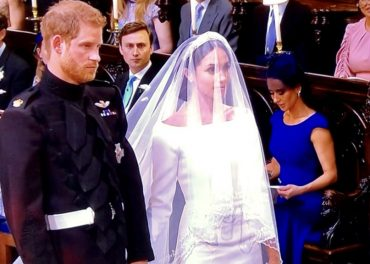 Prince Harry and Meghan Markle Man and Wife