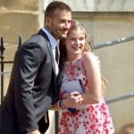 David Beckham stops for selfie with fan