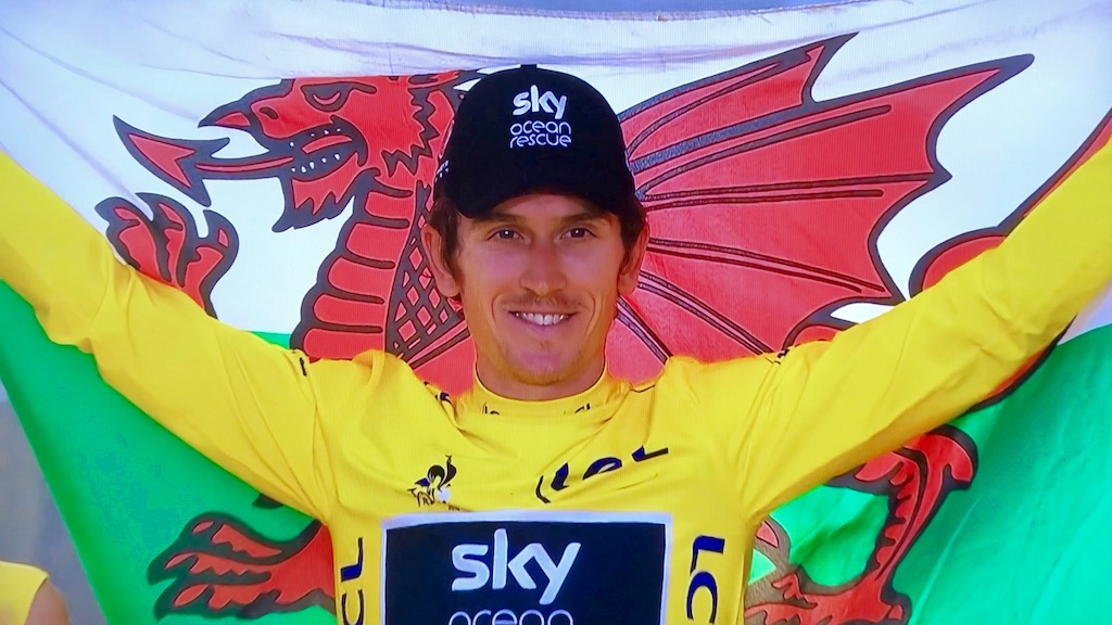 Geraint Thomas Seals Victory in Tour de France 2018