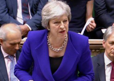 Theresa May Prime Minister PMQs