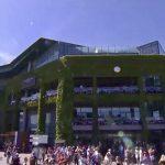 crowds pack Wimbledon