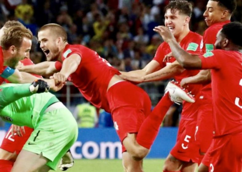 England Beat Colombia In Penalties