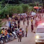 ambulances volunteers on standby