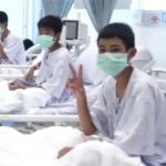 Thailand Cave Rescue in hospital