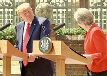 Trump Praises Theresa May