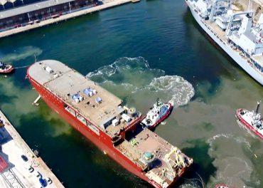 Attenborough Polar Ship Launch LIVE