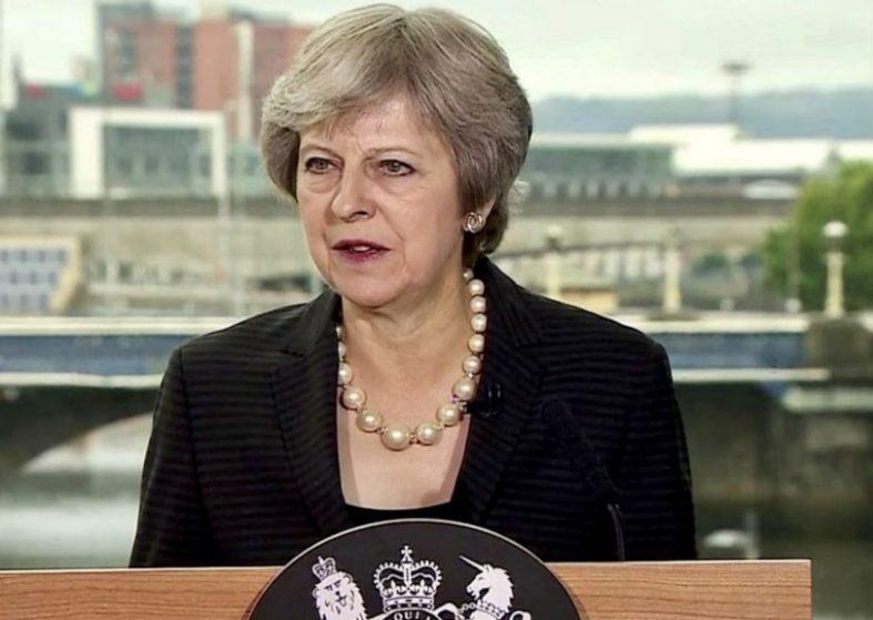PM: No Hard Border In Northern Ireland