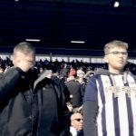 West Bromwich Albion fans