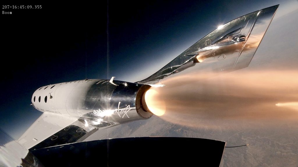 Virgin Galactic Conducts Third Supersonic Test flight