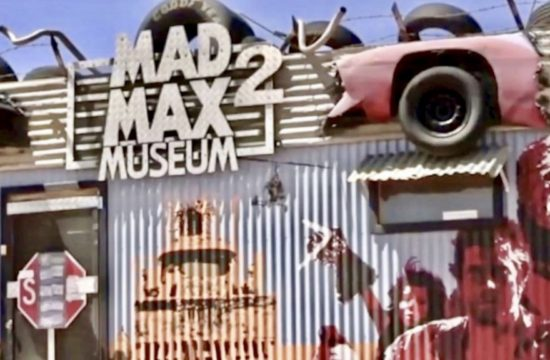 Mad Max Museum - built by Brit in Australian outback