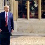 Trump Blocks Queen