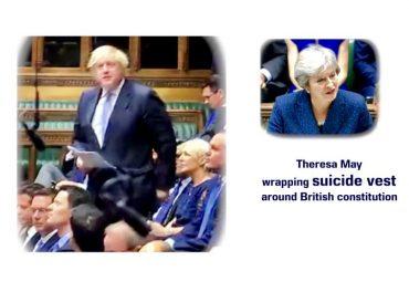 Boris Brexit Battle Against Theresa May