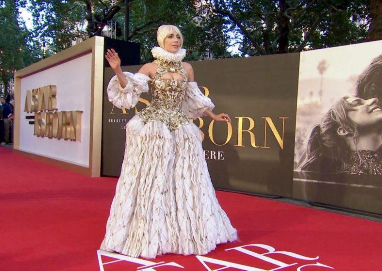 Lady Gaga Rocks at A Star Is Born Premiere
