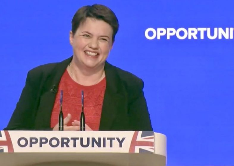 Ruth Davidson Calls For Unity