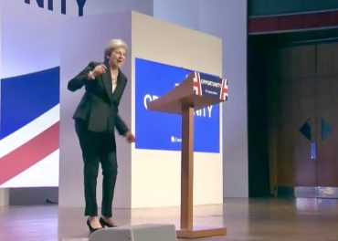 PM danced onto the stage