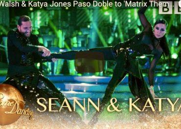Seann Walsh & Katya Jones Paso Doble