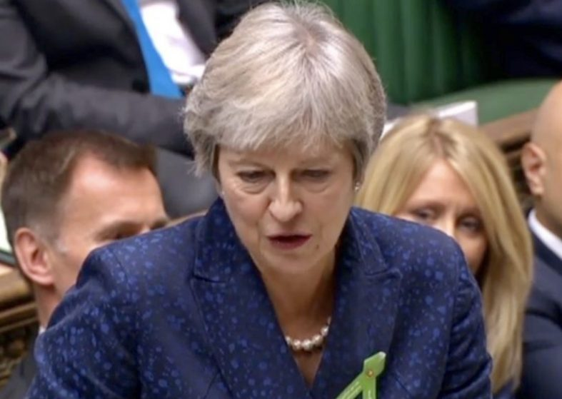 Prime Ministers Questions - Theresa May and Brexit - replay