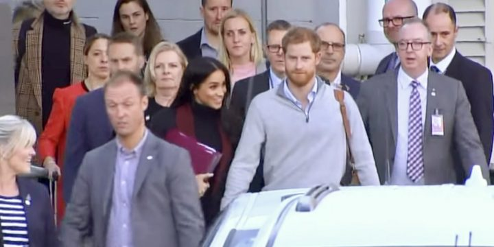 Prince Harry and Meghan Touch Down In Sydney