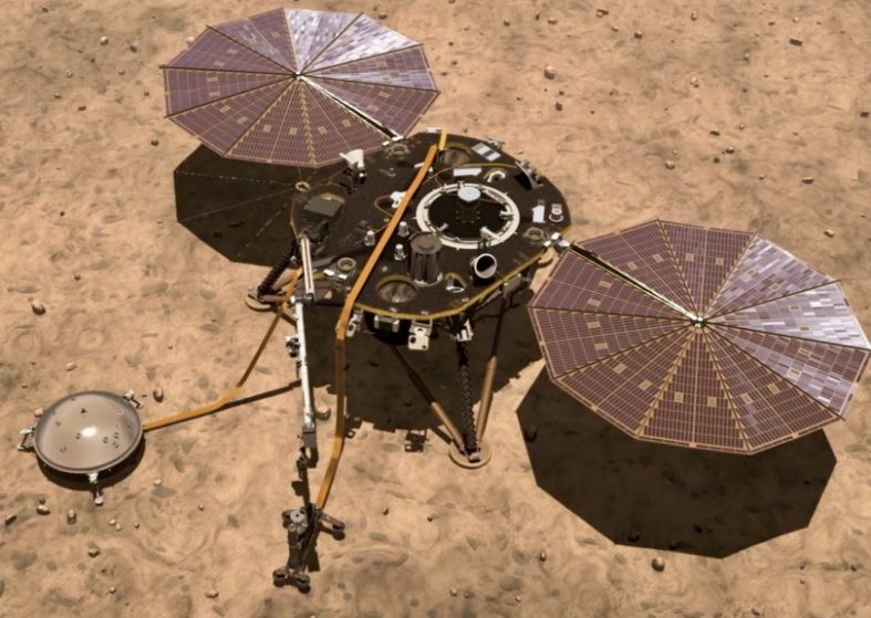 Space Claw on NASA's Insight Mars