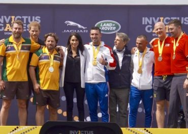 Duke and Duchess of Sussex Present First Medals Invictus Games