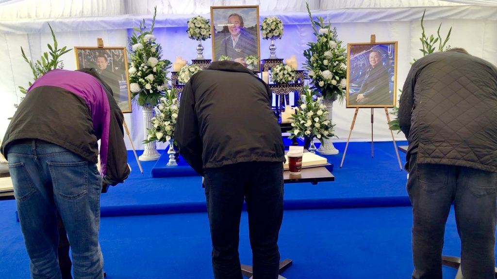 Leicester City Fans Pay Tribute to Vichai Srivaddhanaprabha