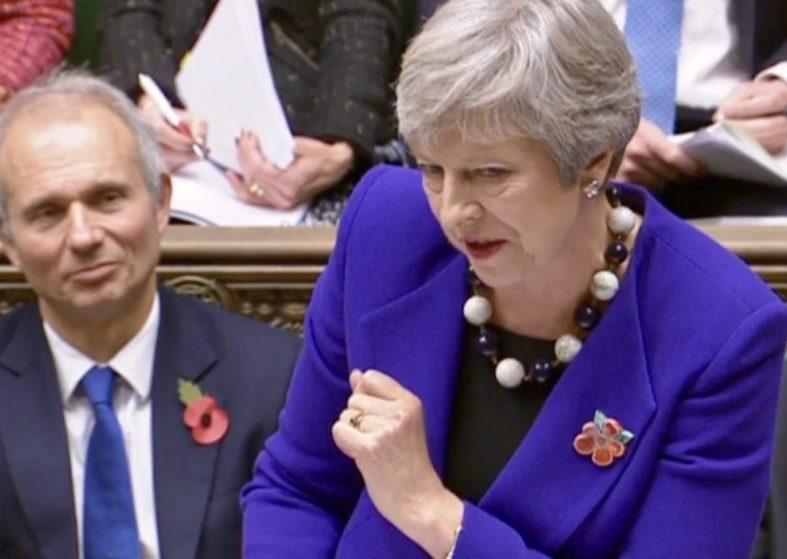 PMQs Theresa May 31 Oct