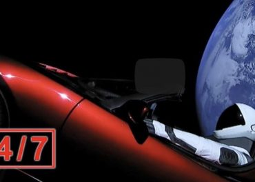 SpaceX Tesla Starman Cosmic Journey