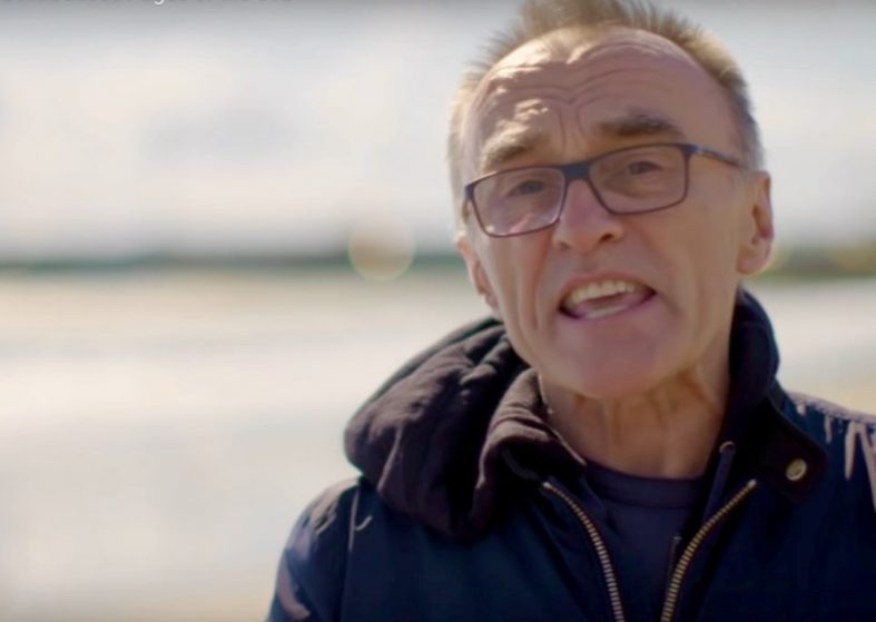 Danny Boyle Introduces Pages of the Sea
