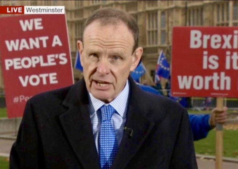 Demo Photo Bombs Live BBC Broadcast