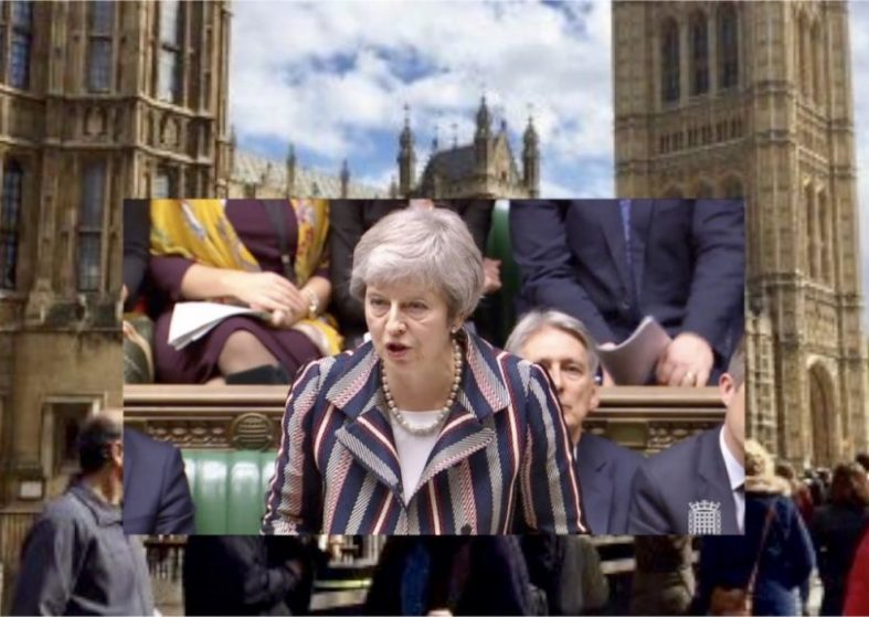 Theresa May Addresses Parliament On Brexit Deal
