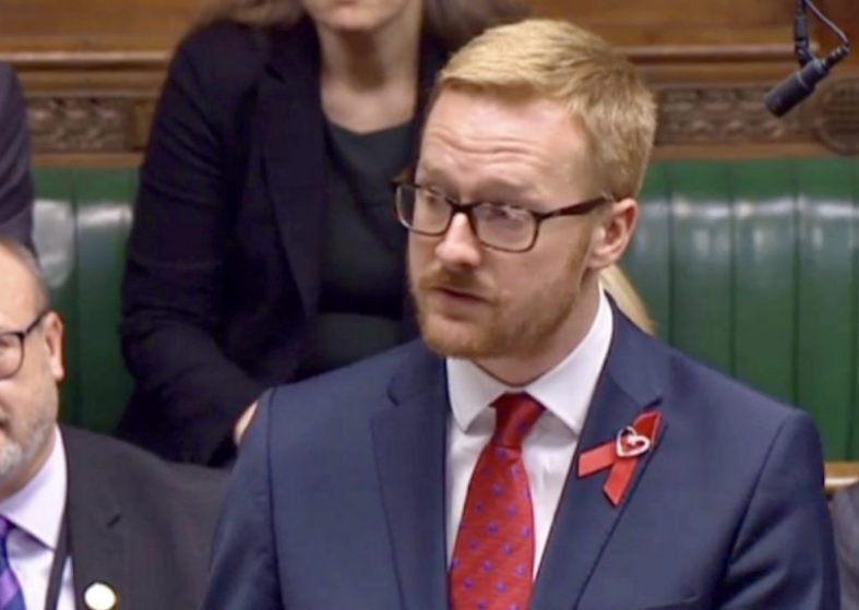 Lloyd Russell-Moyle Labour MP