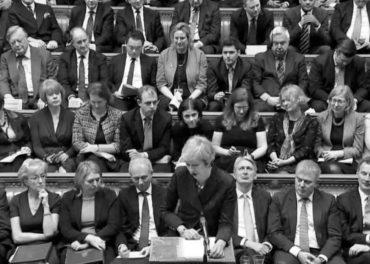 Theresa May and Tory MPs