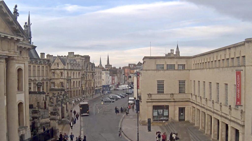 Oxford Martin School Webcam