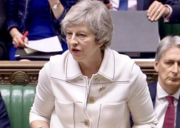 Theresa May PM 13 Jan 2019