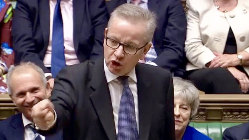 Michael Gove Speech: Best In No Confidence Debate