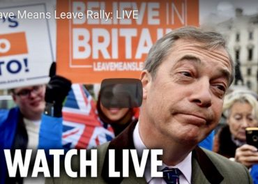 Leave Means Leave Rally LIVE
