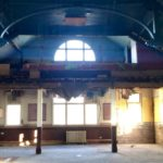 an abandoned cinema