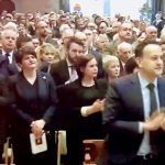 sermon receives standing ovation