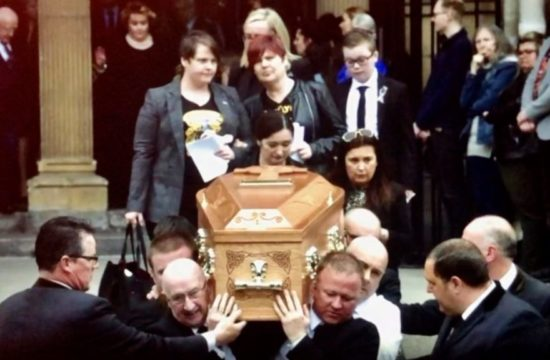 McKee Funeral Priest Confronts Politicians