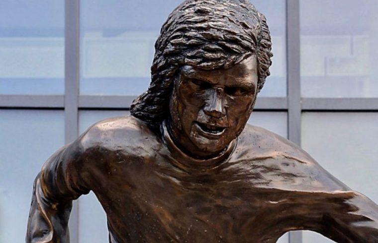 George Best Statue Mocked
