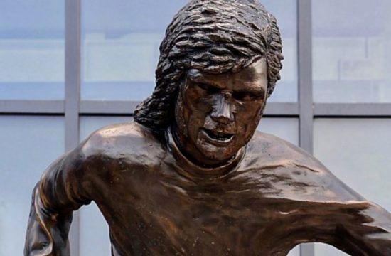 George Best Statue Mocked
