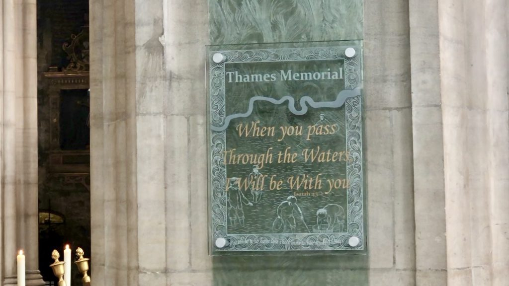 Thames Well Wishing Memorial