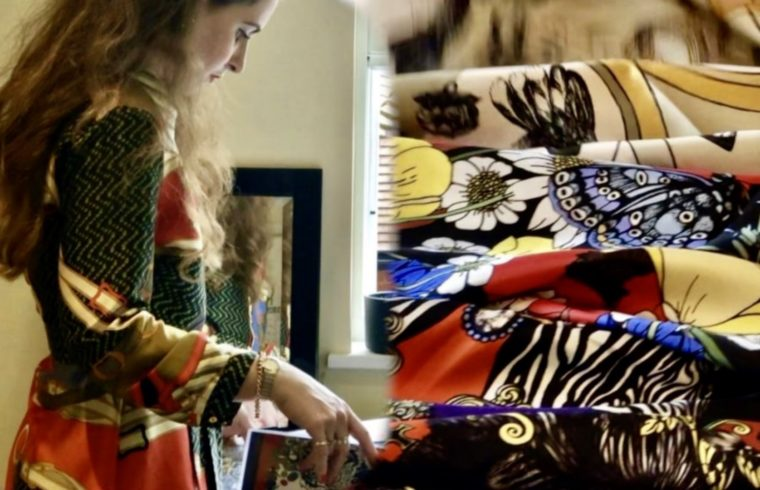 Sustainable Silk Makes High Fashion