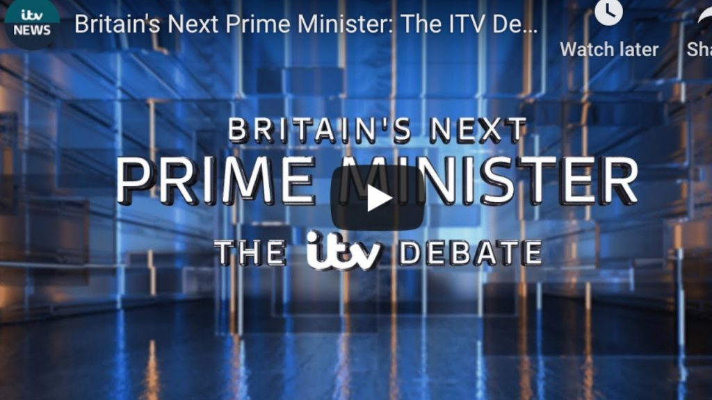 Britains Next Prime Minister - The ITV Debate LIVE