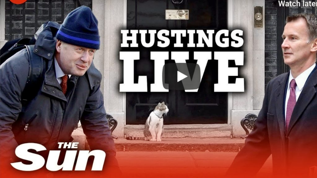 Boris takes on Hunt at Darlington Hustings