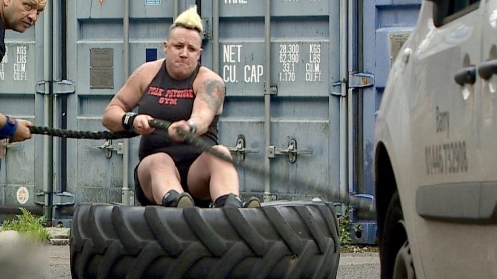 Welsh woman bids to become strongest in world
