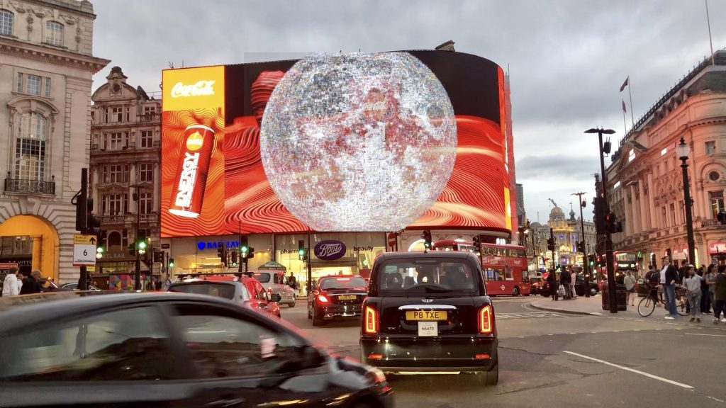 Piccadilly Goes Moon Walking